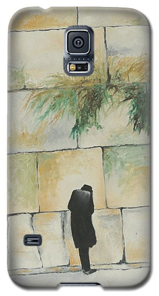 Praying At The Western Wall Galaxy S5 Case