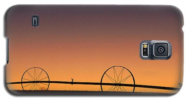 Pre-dawn Orange Sky Galaxy S5 Case by Monte Stevens