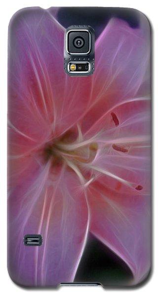 Precious Pink Lily Galaxy S5 Case