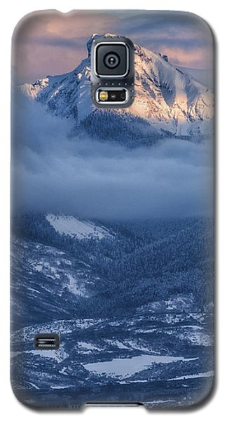 Precipice Smiling Galaxy S5 Case