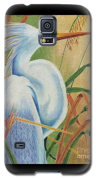 Preening Egret Galaxy S5 Case by Peter Piatt