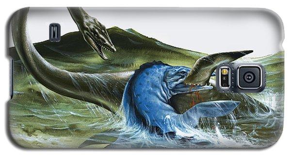 Prehistoric Creatures Galaxy S5 Case by David Nockels