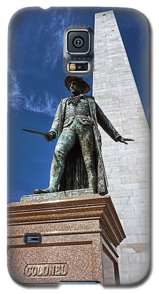 Prescott Statue On Bunker Hill Galaxy S5 Case