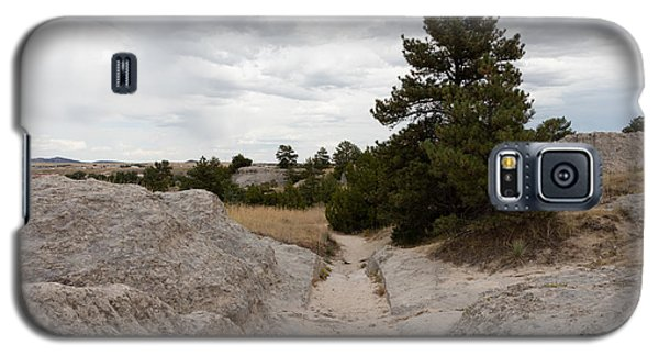 Galaxy S5 Case featuring the photograph Preserved Wagon Ruts Of The Oregon Trail On The North Platte River by Carol M Highsmith