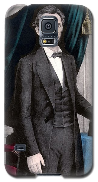 President Abraham Lincoln In Color Galaxy S5 Case