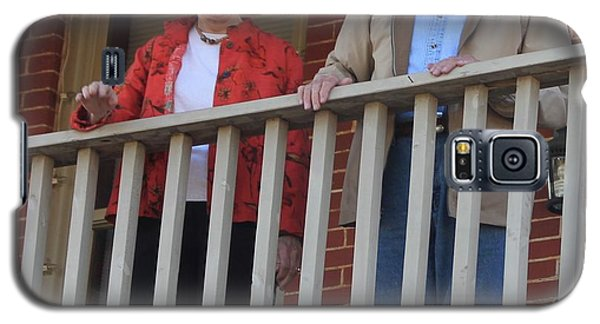 President And Mrs Carter On Plains Inn Balcony Galaxy S5 Case