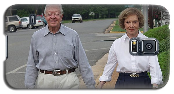 President And Mrs. Jimmy Carter Galaxy S5 Case
