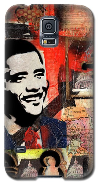 President Barack Obama Galaxy S5 Case