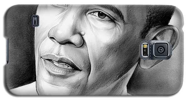 President Barack Obama Galaxy S5 Case by Greg Joens