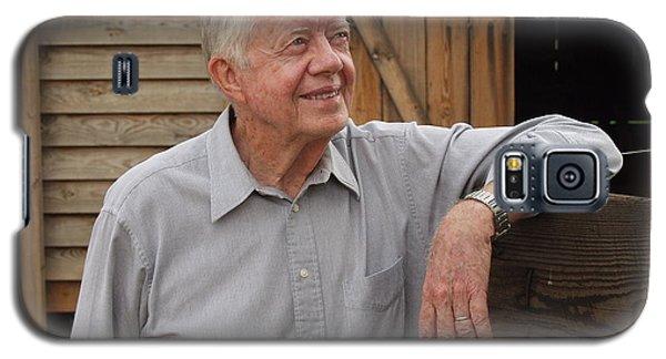 President Carter At His Boyhood Farm Galaxy S5 Case
