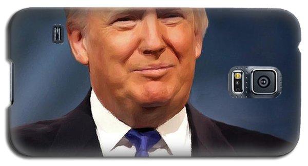 President Donald John Trump Portrait Galaxy S5 Case