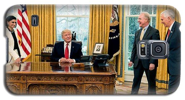 President Donald Trump Galaxy S5 Case