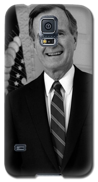George Bush Galaxy S5 Case - President George Bush Sr by War Is Hell Store