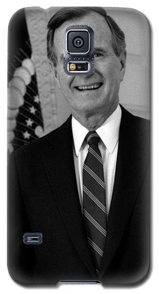 President George Bush Sr Galaxy S5 Case