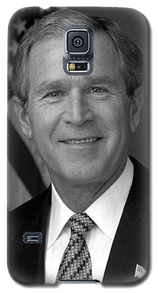 President George W. Bush Galaxy S5 Case by War Is Hell Store