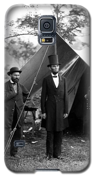 President Lincoln Meets With Generals After Victory At Antietam Galaxy S5 Case