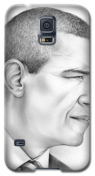 Barack Obama Galaxy S5 Case - President Obama by Greg Joens