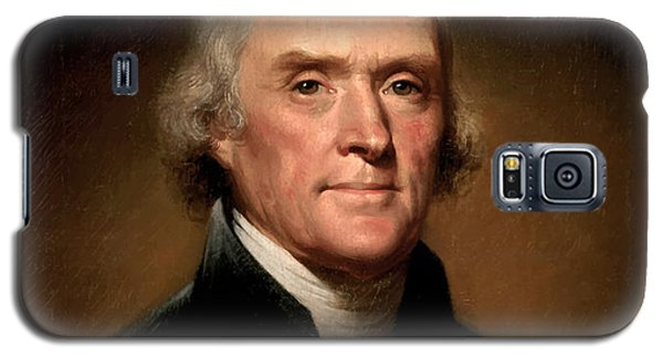 Portraits Galaxy S5 Case - President Thomas Jefferson  by War Is Hell Store