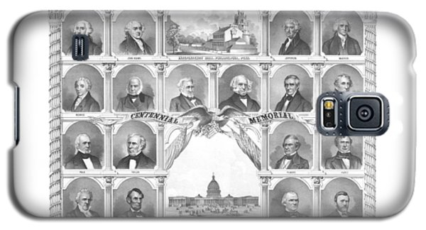 Presidents Of The United States 1776-1876 Galaxy S5 Case by War Is Hell Store
