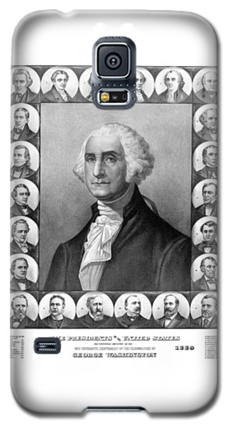 Presidents Of The United States 1789-1889 Galaxy S5 Case by War Is Hell Store