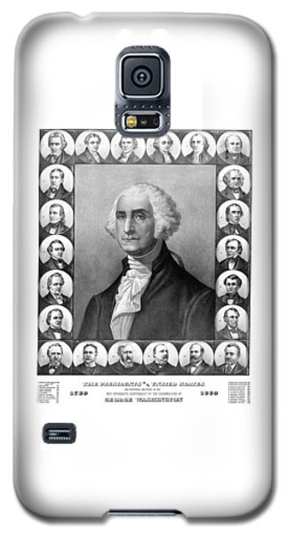 Presidents Of The United States 1789-1889 Galaxy S5 Case