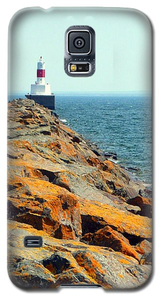 Presque Isle Lighthouse In Marquette Mi Galaxy S5 Case