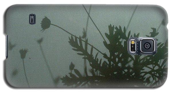 Pressed Daisy Bush Green Galaxy S5 Case by Stan Magnan