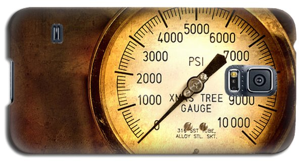 Pressure Gauge Galaxy S5 Case by Charuhas Images