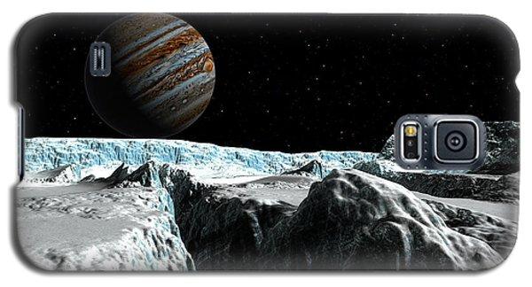 Pressure Ridge On Europa Galaxy S5 Case