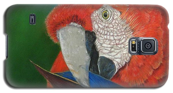 Galaxy S5 Case featuring the painting Presumida by Ceci Watson