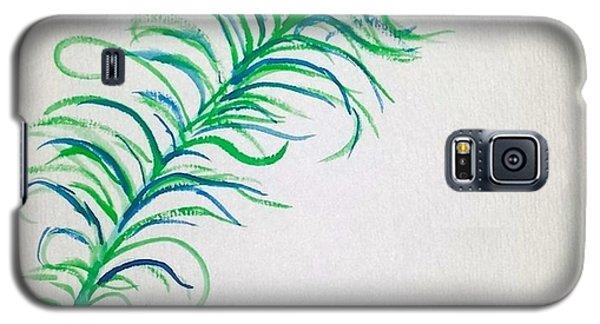 Pretty As A Peacock Galaxy S5 Case