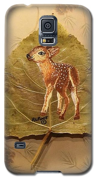 Pretty Baby Deer Galaxy S5 Case