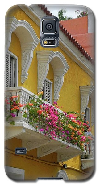 Pretty Dwellings In Old-town Cartagena Galaxy S5 Case