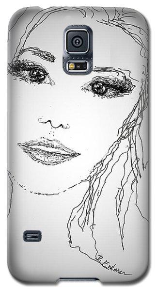 Pretty Eyes Galaxy S5 Case