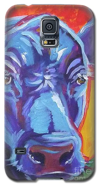 Pretty Face Cow Galaxy S5 Case by Jenn Cunningham