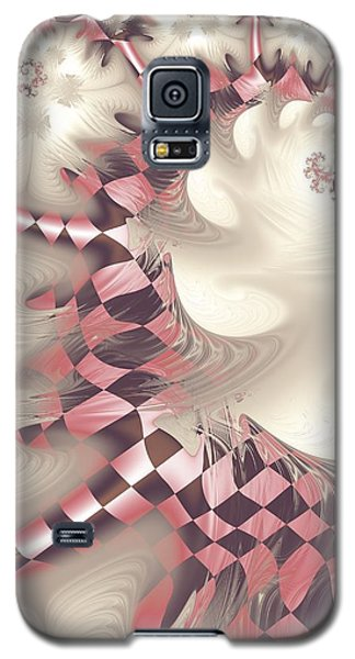 Galaxy S5 Case featuring the digital art Pretty Gnarly by Michelle H