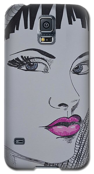 Pretty In Pink Lips Galaxy S5 Case