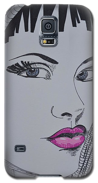 Pretty In Pink Lips Galaxy S5 Case