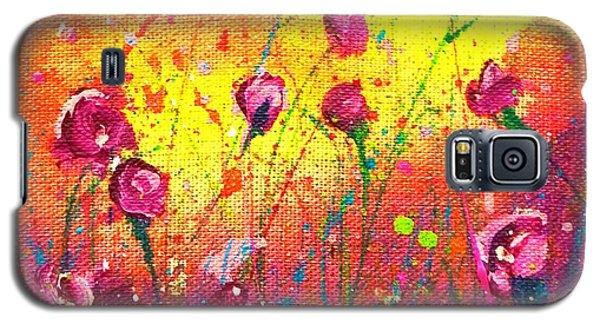 Pretty In Purple Galaxy S5 Case