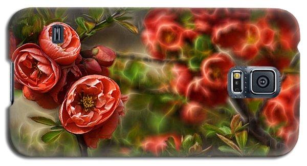 Pretty In Red Galaxy S5 Case