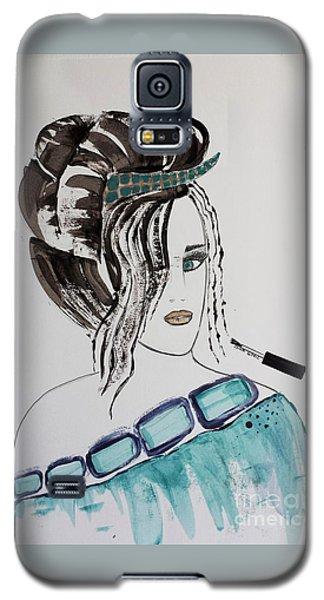 Pretty Lady Galaxy S5 Case
