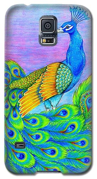Pretty Peacock Galaxy S5 Case