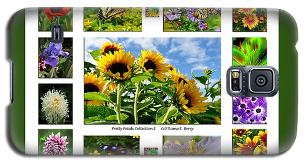 Galaxy S5 Case featuring the photograph Pretty Petals Collection I by Diane E Berry