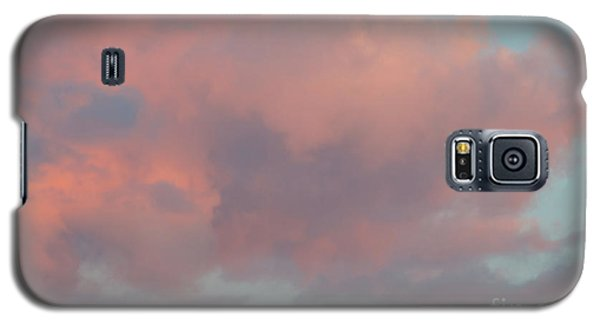 Galaxy S5 Case featuring the photograph Pretty Pink Clouds by Ana V Ramirez