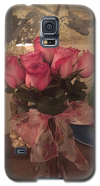 Galaxy S5 Case featuring the photograph Pretty Pink by Paula Brown
