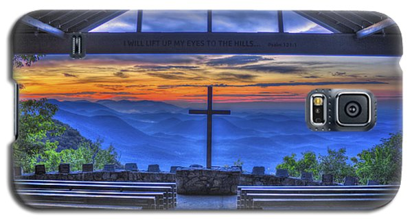Pretty Place Chapel Sunrise 777  Galaxy S5 Case