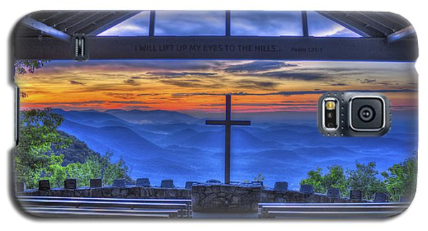 Pretty Place Chapel Sunrise 777  Galaxy S5 Case