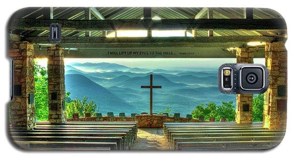 Pretty Place Chapel The Son Has Risen Blue Ridge Mountain Art Galaxy S5 Case