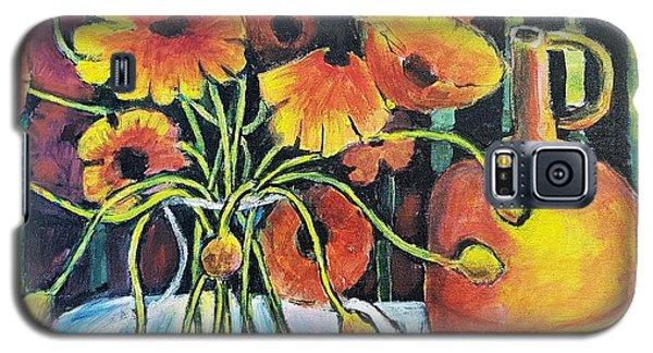 Pretty Poppies Galaxy S5 Case
