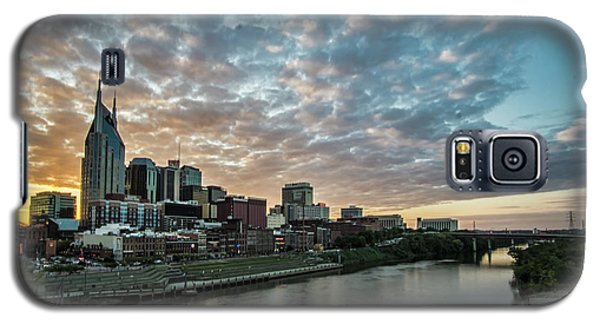 Pretty Sky And Nashville Skyline Galaxy S5 Case